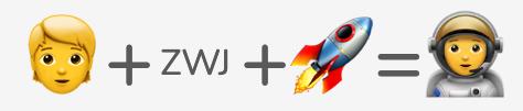 The astronaut emoji