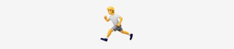 The runner emoji